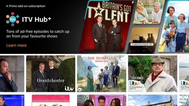 Amazon adds live TV channels to UK Prime Video offer