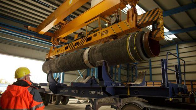 Construcción de gasoducto desde Rusia a Alemania