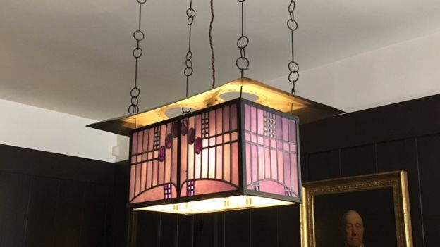 Mackintosh designed every aspect of the house