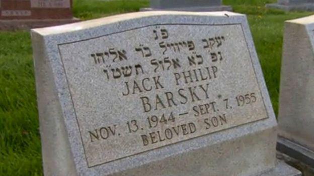 Jack Barsky's grave