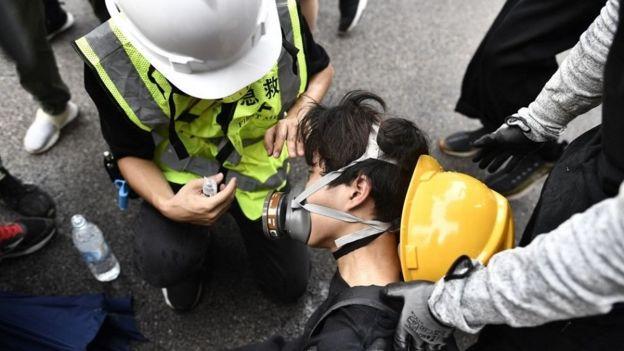 香港示威者