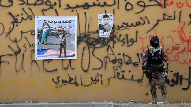 Irak'ta Haşd-i Şabi milislerinin de katıldığı protestolarda ABD'nin Bağdat Büyükelçiliği hedef alınmıştı