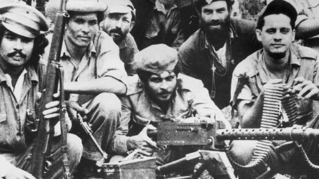 Ảnh tư liệu về các nhân vật cách mạng vũ trang của Cuba thời gian khổ
