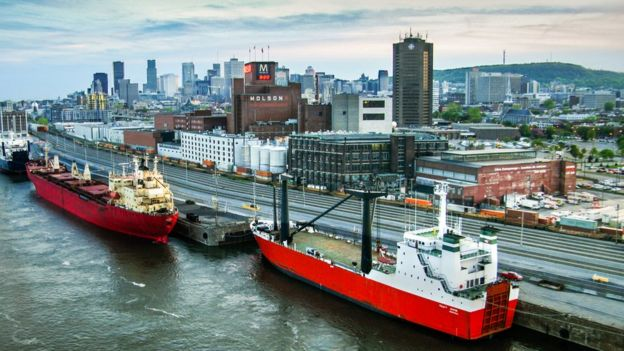 The Port of Montreal