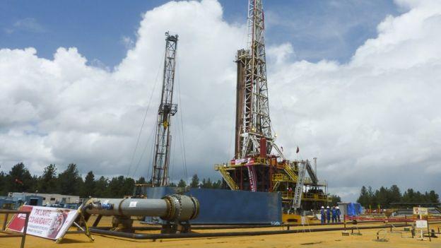 planta de petróleo de pdvsa