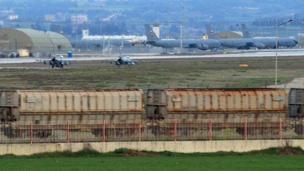 Base aérea de Incirlik.