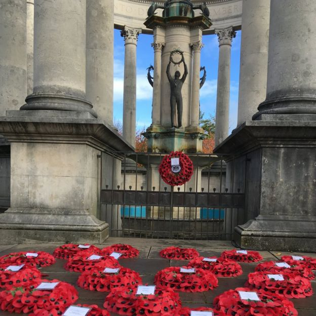 Remembrance Sunday Cardiff