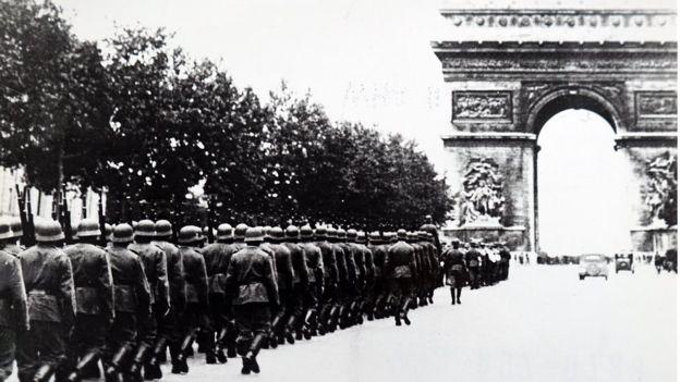 Вермахт в Париже (1940 год)