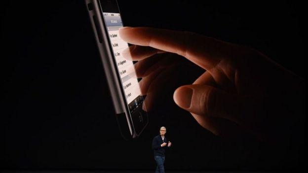 Presidente ejecutivo de Apple, Tom Cook.