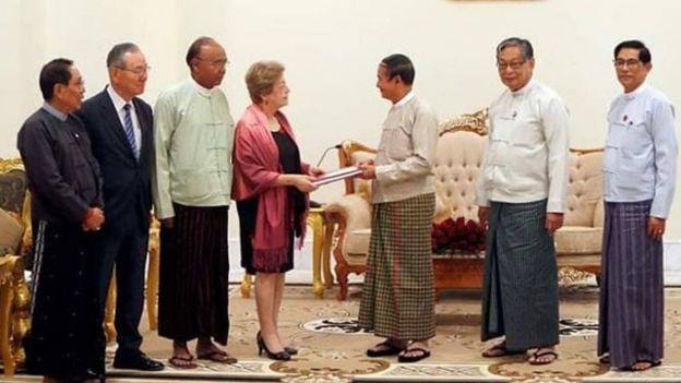 လူမျိုးသုဉ်း သတ်ဖြတ်မှုစွပ်စွဲချက်နဲ့ပဲ နိုင်ငံတကာခုံရုံးမှာလည်း မြန်မာနိုင်ငံက သွားရောက်ခုခံချေပနေရပါတယ်။