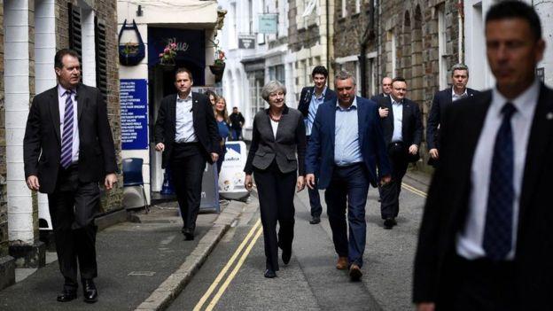 La primera ministra británica Theresa May.