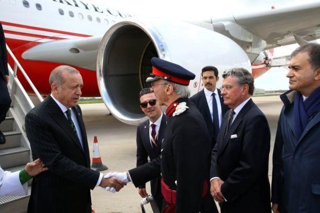Erdoğan Londonda