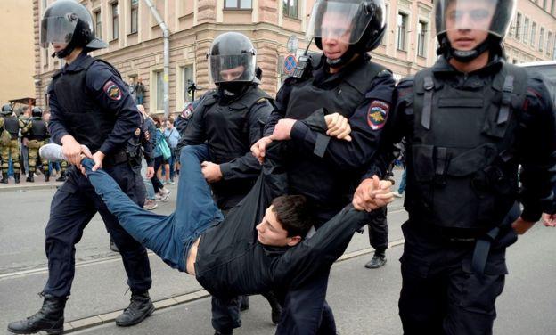 Задержание активиста