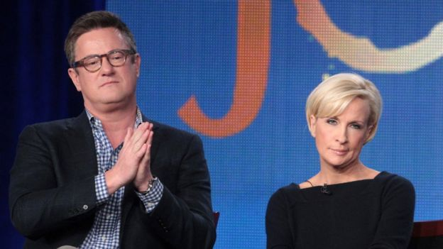 Joe Scarborough y Mika Brzezinski.