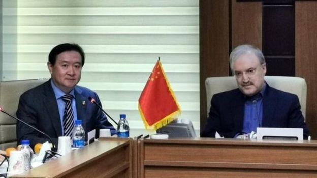 دیدار سفیر چین با وزیر بهداشت