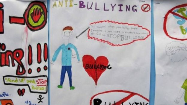 Carta sobre el bullying en la escuela.