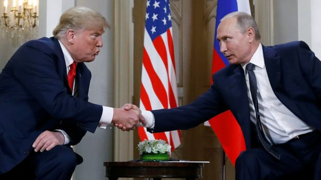 Trump ikinci görüşme için Putin'i ABD'ye davet etti