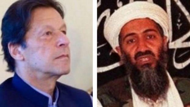 اسامہ بن لادن اور عمران خان