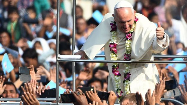 Visita do Papa Francisco a Bangladesh