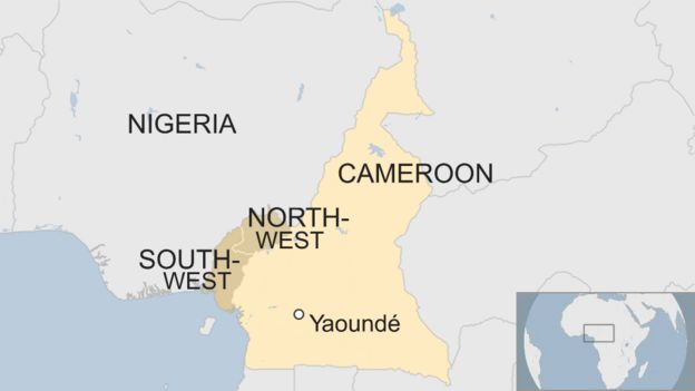 Burning Cameroon: Images you\'re not meant to see - BBC News