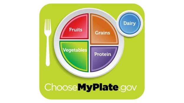 USDA's MyPlate replaced the iconic food pyramid in 2011
