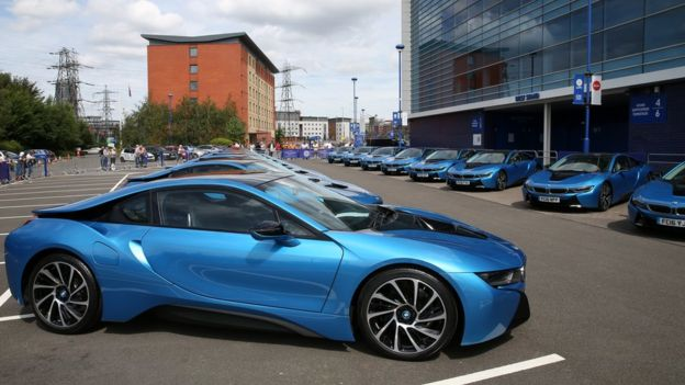 Leicester City Players Change Their Car Colours From Team Blue