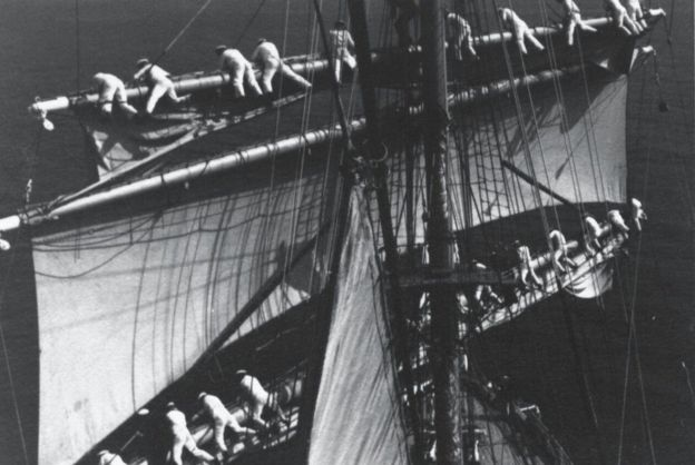 Why is the US still using a Nazi tall ship? - BBC News