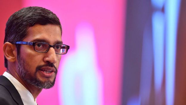 Google's chief executive snubbed the Senate's request to appear in September