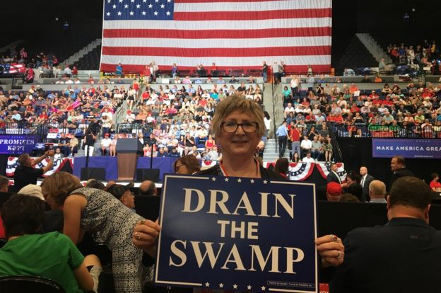 Drain the Swamp poster