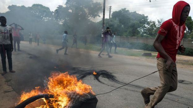 Protests in Zimbabwe