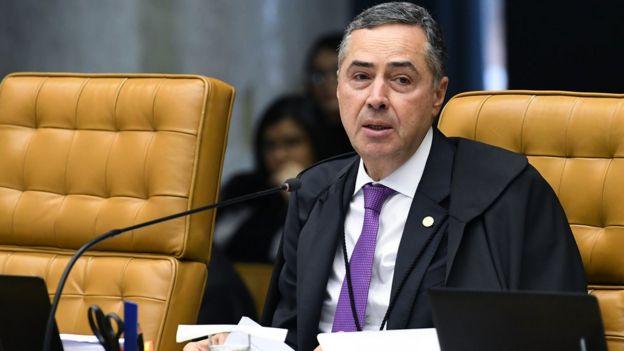 Ministro Roberto Barroso, do Supremo Tribunal Federal
