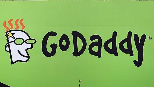 GoDaddy banner