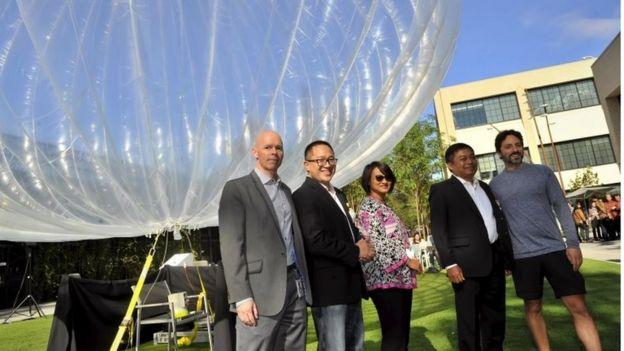 Facebook's laser drones v Google's net-beaming balloons - BBC News