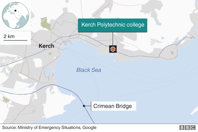 Kerch map