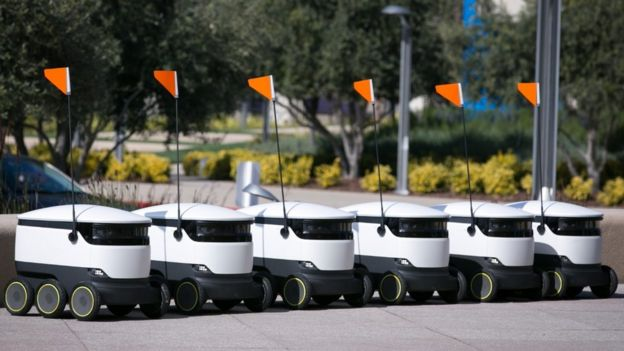 grocery delivery robots