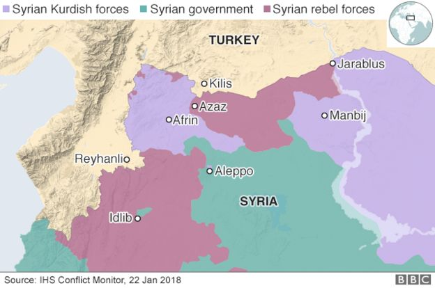 Syria war: Why Turkey\'s battle for northern Syria matters ...