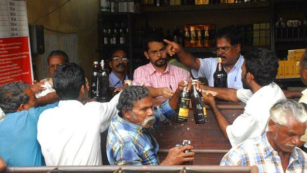 Керала - лидер по потреблению алкоголя на душу населения среди индийских штатов