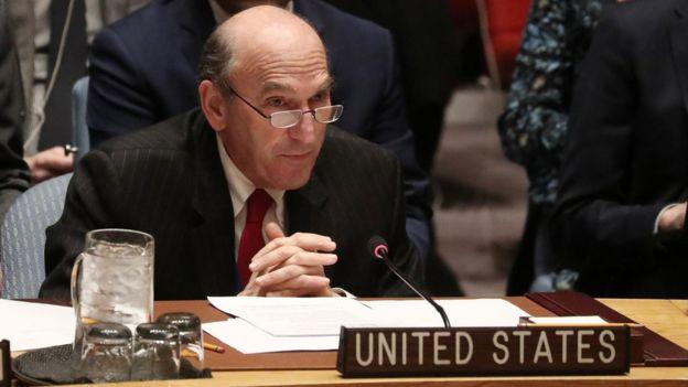 El representante especial de EE.UU. para Venezuela, Elliott Abrams
