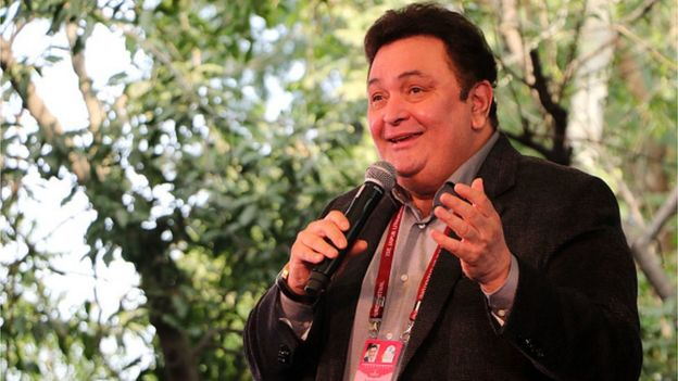 Bollywood actor Rishi Kapoor