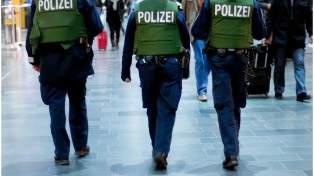 Polícia da Alemanha