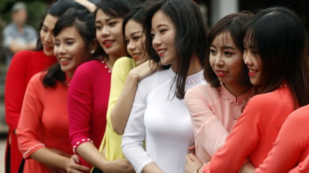 Nữ thanh niên VN