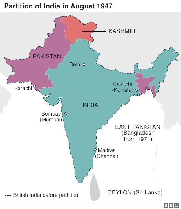 Partition 70 years on: The turmoil, trauma - and legacy ...