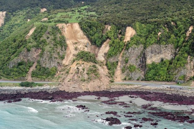 New Zealand Hit By Aftershocks After Severe Earthquake Bbc