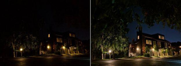 Night Sight photos