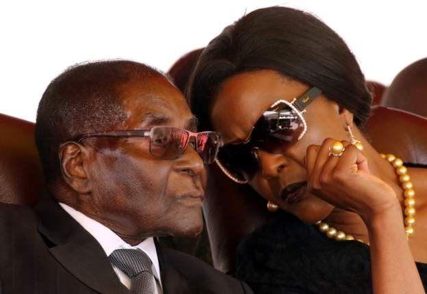 Президент Мугабе із дружиною Грейс
