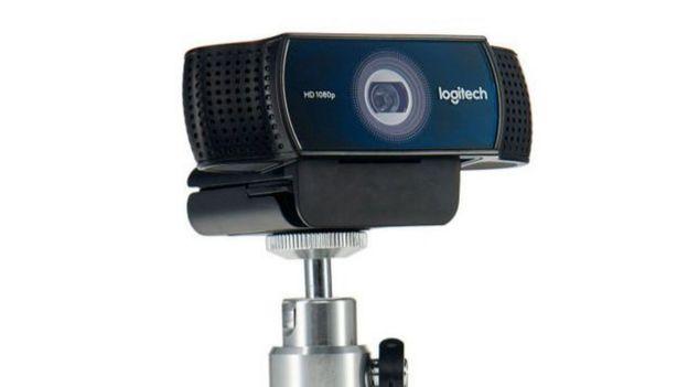 A Logitech webcam