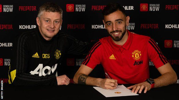 bruno signing contract with manchester united