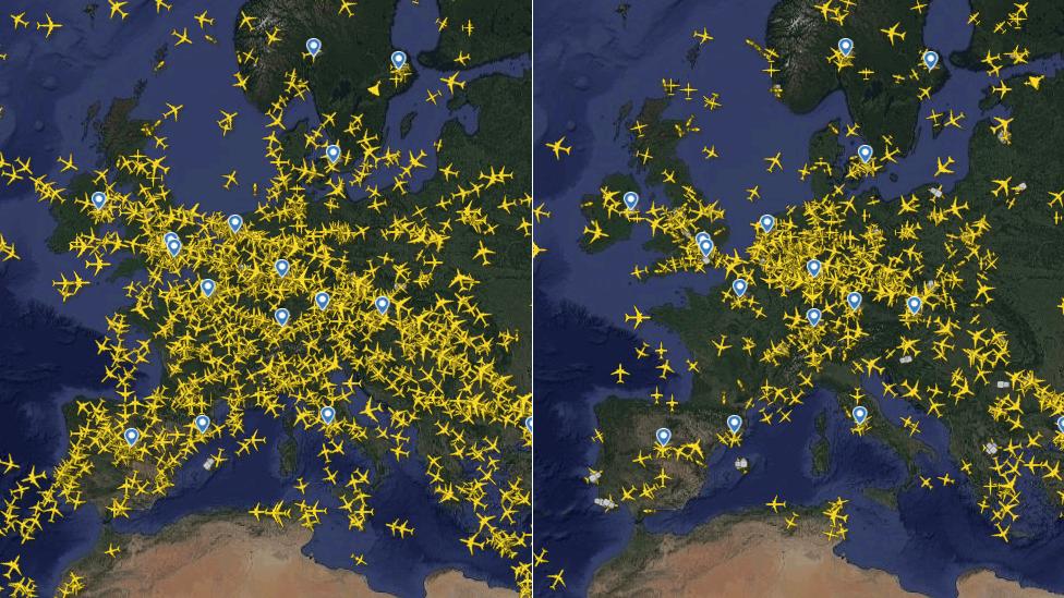 Данные Flightradar20
