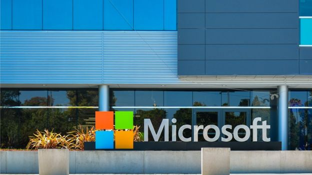 Oficina de Microsoft en Mountain View (California)