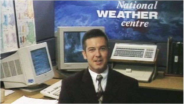 Roedd Derek Brockway yn dechrau ar ei daith i enwogrwydd // Derek was on his way to media superstardom